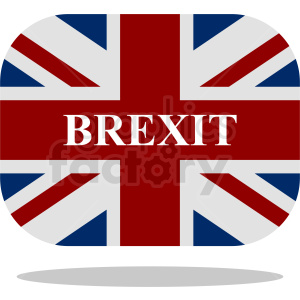 Brexit and Britain Flag clipart. Royalty-free image # 412169