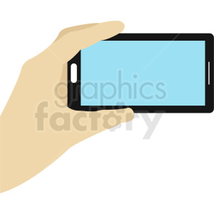 mobile camera phone vector clipart. Royalty-free image # 412307