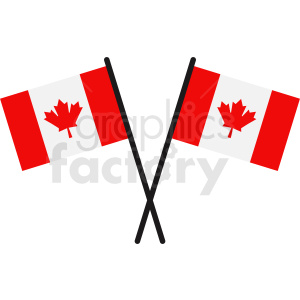 Canada flags icon clipart. Commercial use image # 412320
