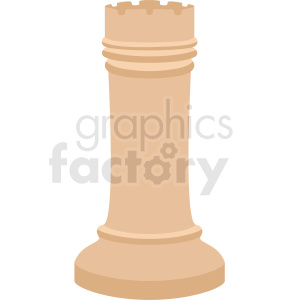 chess rook piece vector clipart clipart. Commercial use image # 412482