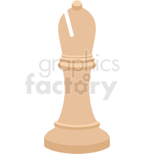 chess bishop piece vector clipart clipart. Royalty-free image # 412487