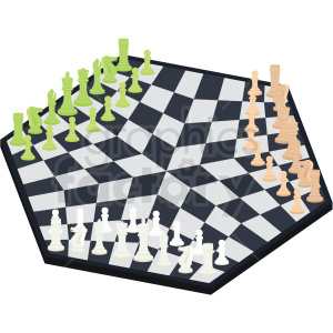 chess board triple play vector clipart clipart. Commercial use image # 412494