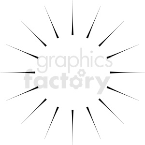 bursting vector clipart design clipart. Royalty-free image # 412566