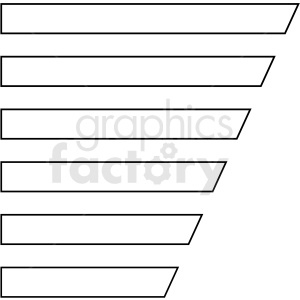 angled list panel overlay templates vector clipart clipart. Commercial use image # 412663