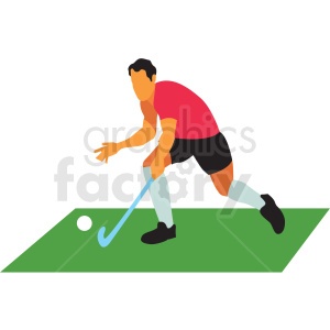 olympic field hockey vector clipart clipart. Royalty-free image # 412818