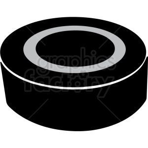 hockey puck clipart design