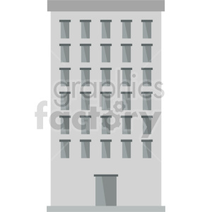 office building vector clipart icon 1 clipart. Commercial use image # 413467