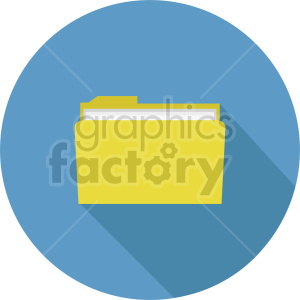 file folder vector clipart 2 clipart. Commercial use image # 413491