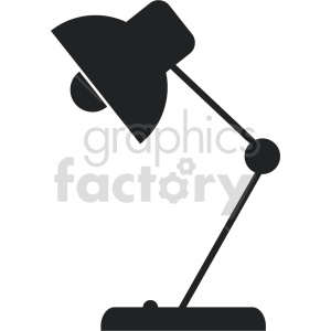 desk lamp vector clipart 3 clipart. Commercial use image # 413497