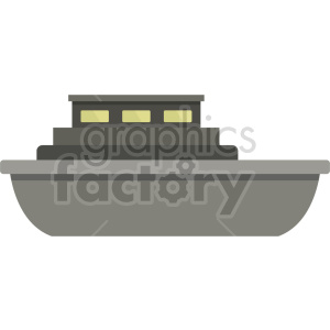 ship vector icon no background clipart. Commercial use image # 413542