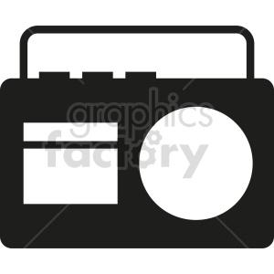 clipart - radio vector icon graphic clipart 3.
