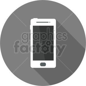 smartphone vector icon graphic clipart 7 clipart. Commercial use image # 413596