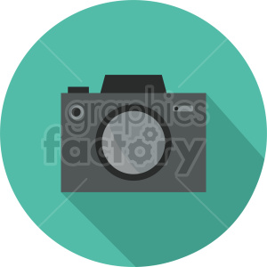 camera vector clipart illustration clipart. Commercial use image # 413597