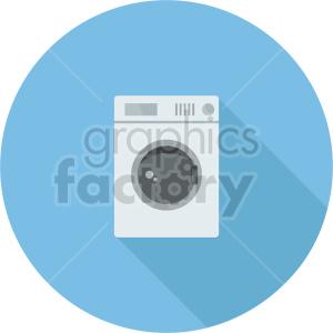 washing machine vector icon graphic clipart 3