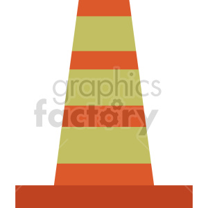 construction cone graphic clipart 3 clipart. Commercial use image # 413638