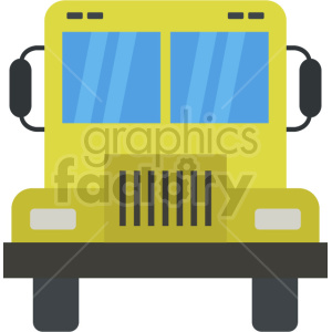 school bus vector icon graphic clipart no background clipart. Commercial use image # 413664