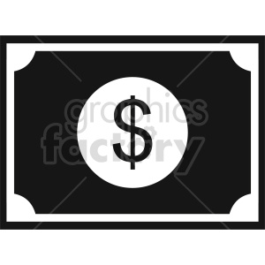 dollar vector icon graphic clipart 4 clipart. Commercial use image # 413678