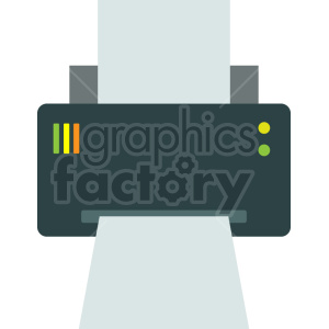 computer printer vector graphic clipart no background clipart. Commercial use image # 413718