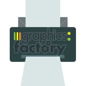 computer printer vector graphic clipart no background
