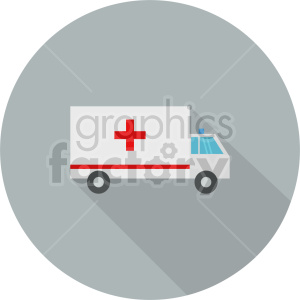 ambulance vector icon graphic clipart 1 clipart. Commercial use image # 413763