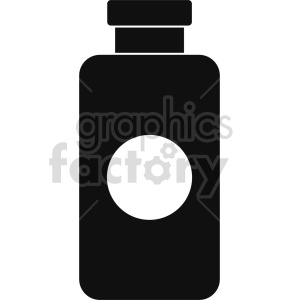 medicine vector icon graphic clipart 5 clipart. Commercial use image # 413793