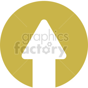 arrow up vector icon graphic clipart 5
