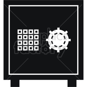 safe vector icon graphic clipart 4 clipart. Commercial use image # 413844