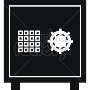 safe vector icon graphic clipart 4