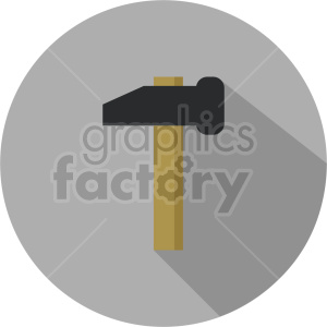 hammer vector icon graphic clipart 19 clipart. Commercial use image # 413879