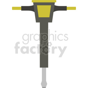 jack hammer vector icon graphic clipart no background clipart. Commercial use image # 413912