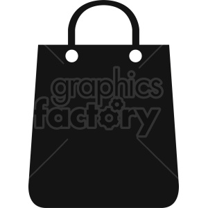 shopping bag vector icon graphic clipart 4 clipart. Commercial use image # 413932