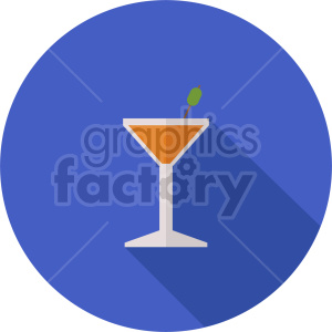 isometric cocktail vector icon clipart 6 clipart. Commercial use image # 413967