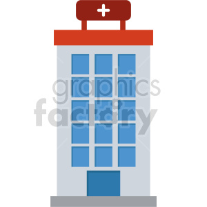 isometric hospital vector icon clipart 7 clipart. Royalty-free image # 414015