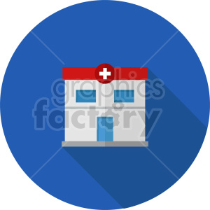 isometric hospital vector icon clipart 1