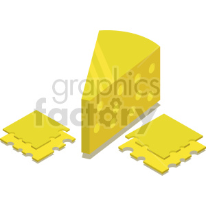 isometric cheese vector icon clipart set clipart. Commercial use image # 414078
