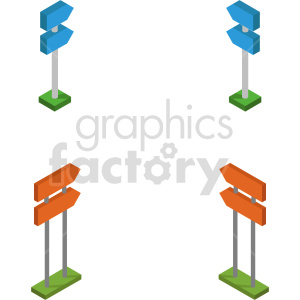 isometric 8bit sign vector icon clipart bundle clipart. Commercial use image # 414328