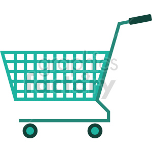isometric shopping cart vector icon clipart 4 clipart. Commercial use image # 414578