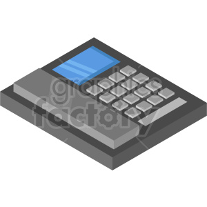 isometric phone vector icon clipart 5 clipart. Commercial use image # 414588