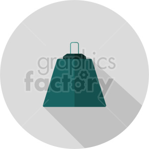 isometric weights vector icon clipart 3 clipart. Commercial use image # 414647