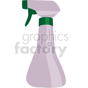 mini garden water bottle vector clipart clipart. Commercial use image # 414843