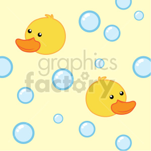 seamless duck background graphic clipart. Commercial use image # 415112