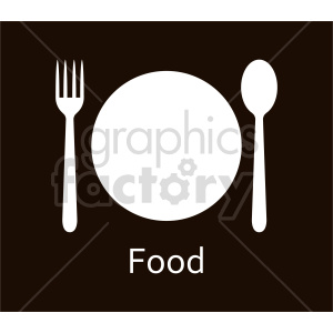 dinner plate design vector clipart clipart. Commercial use image # 415163