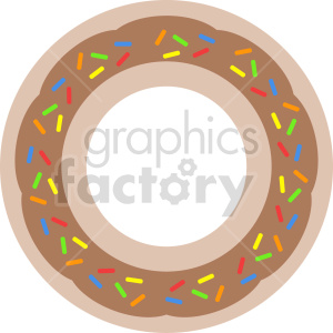 Doughnut clipart clipart. Commercial use image # 415167