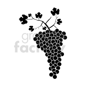 grapes vector graphic 03 clipart. Commercial use image # 415207