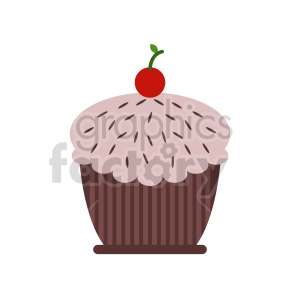 cup cake vector clipart 2 clipart. Commercial use image # 415209
