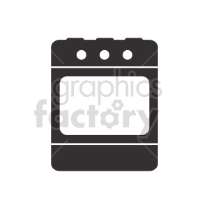 oven vector clipart clipart. Commercial use image # 415242