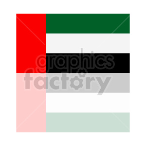 Flag of United Arab Emirates vector clipart 0 clipart. Commercial use image # 415302
