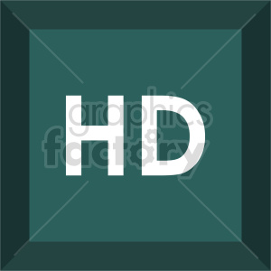 hd square icon vector clipart clipart. Commercial use image # 415518