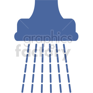 shower icon vector clipart clipart. Commercial use image # 415576