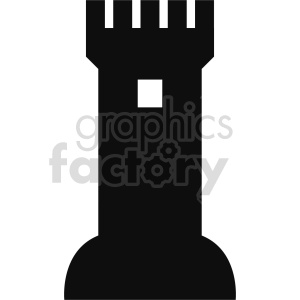 castle tower vector design clipart. Commercial use image # 415706